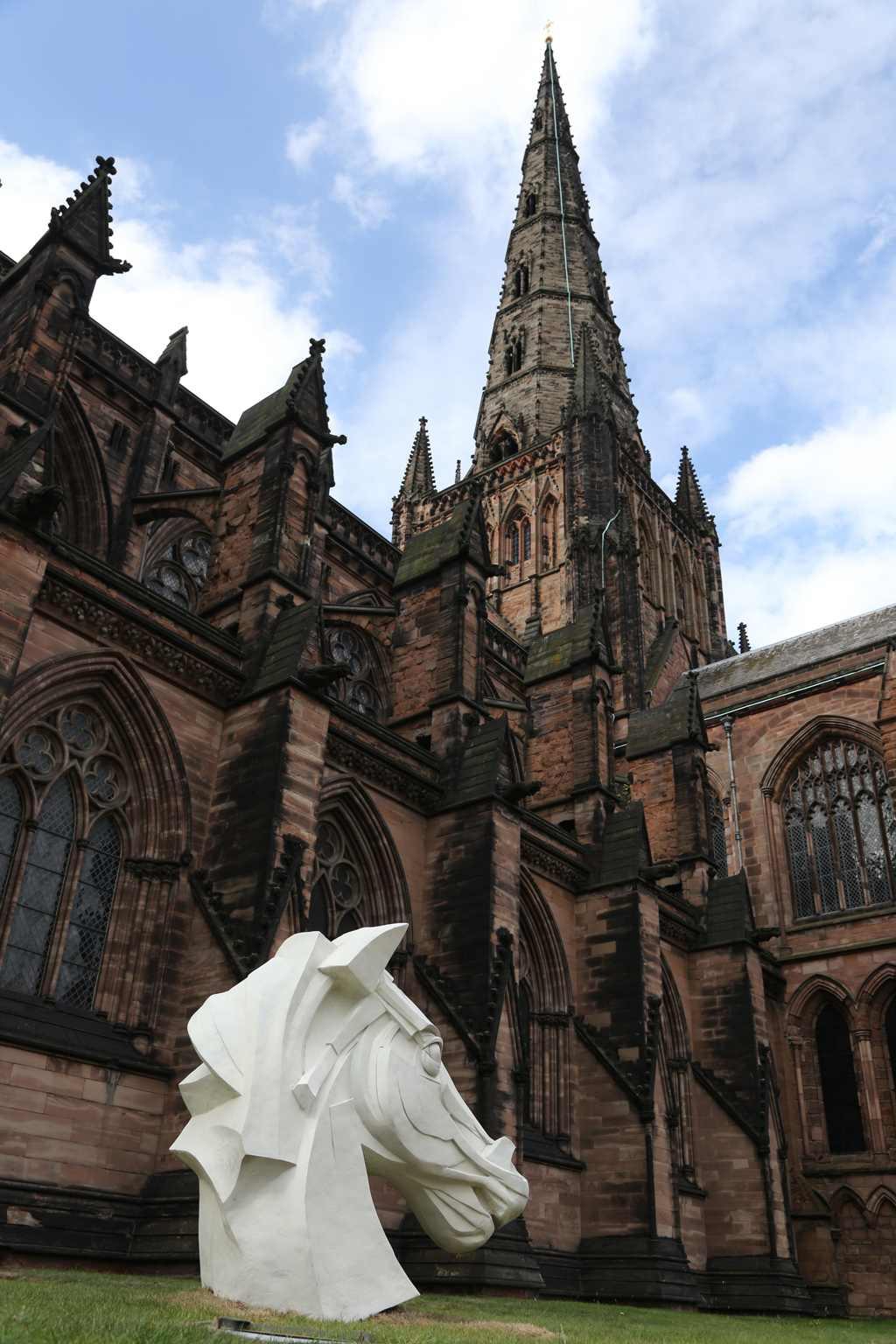 Peter walker sculptor lichfield cathedral d